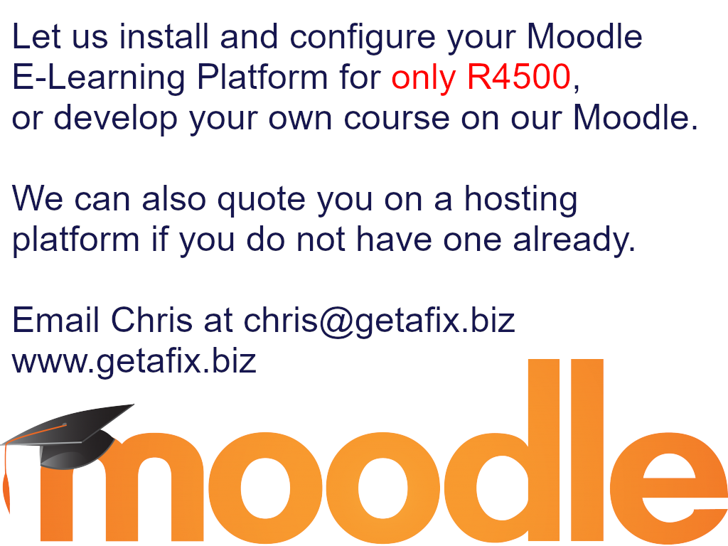 Moodle Ad website